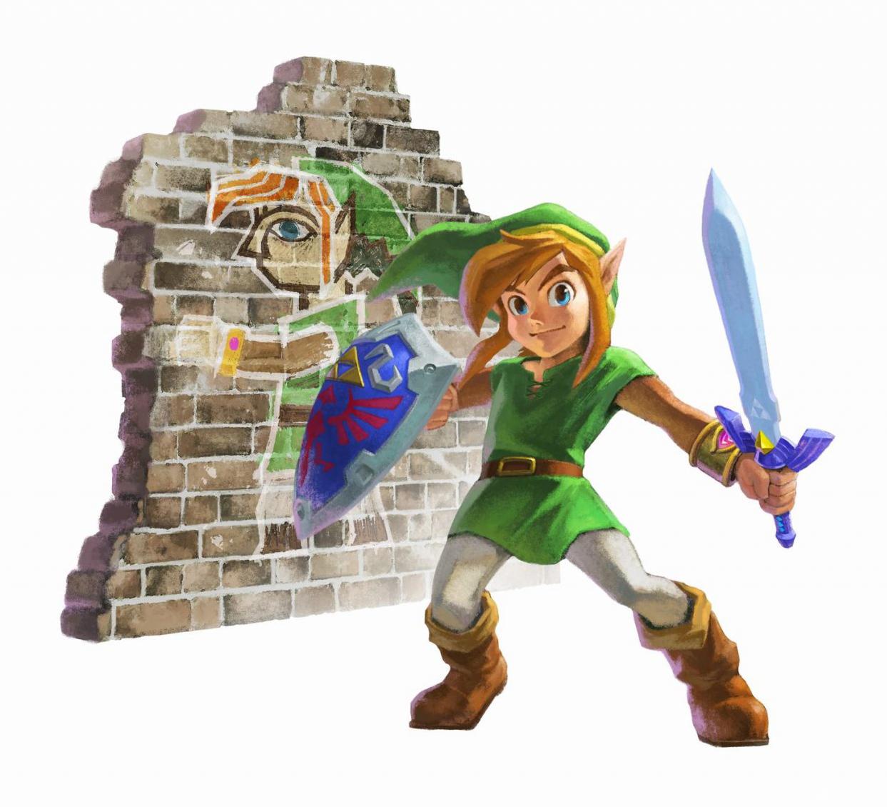 Wisegamers Ch Testbericht Zelda A Link Between Worlds